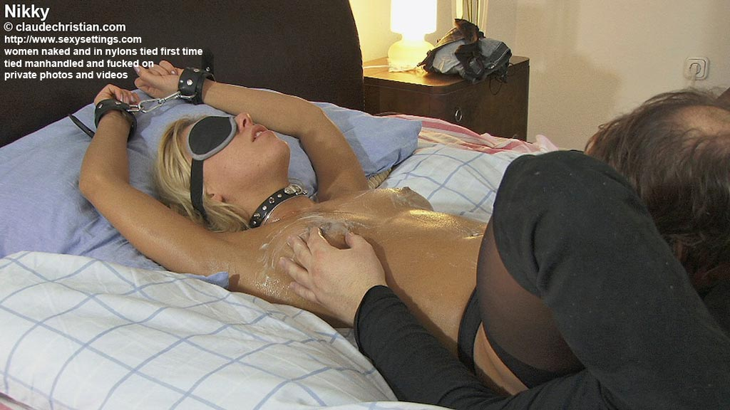 Can, too Wife tied to bed sex
