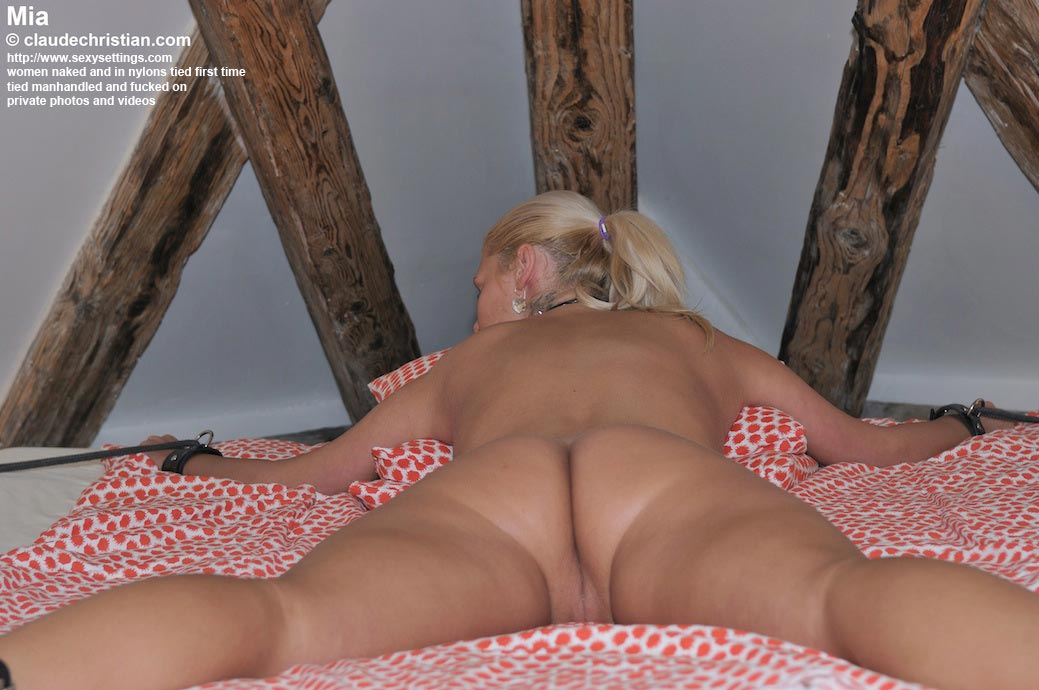busty woman blowjob in the air