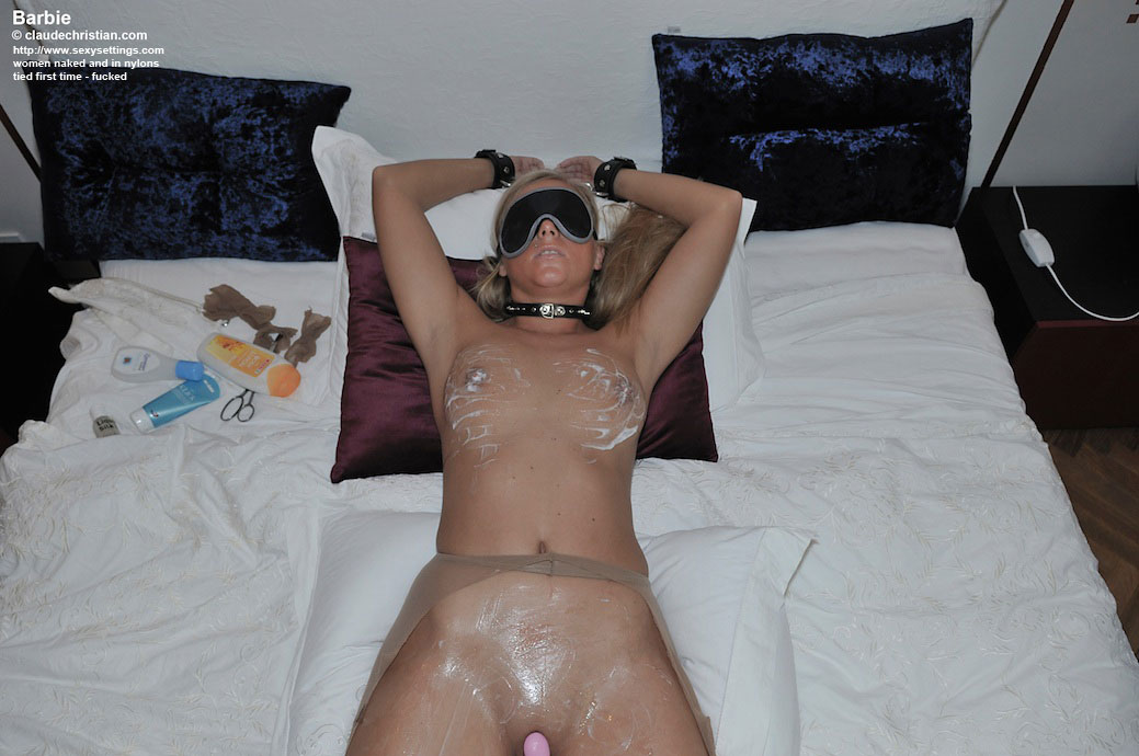 barbie naked and tied up