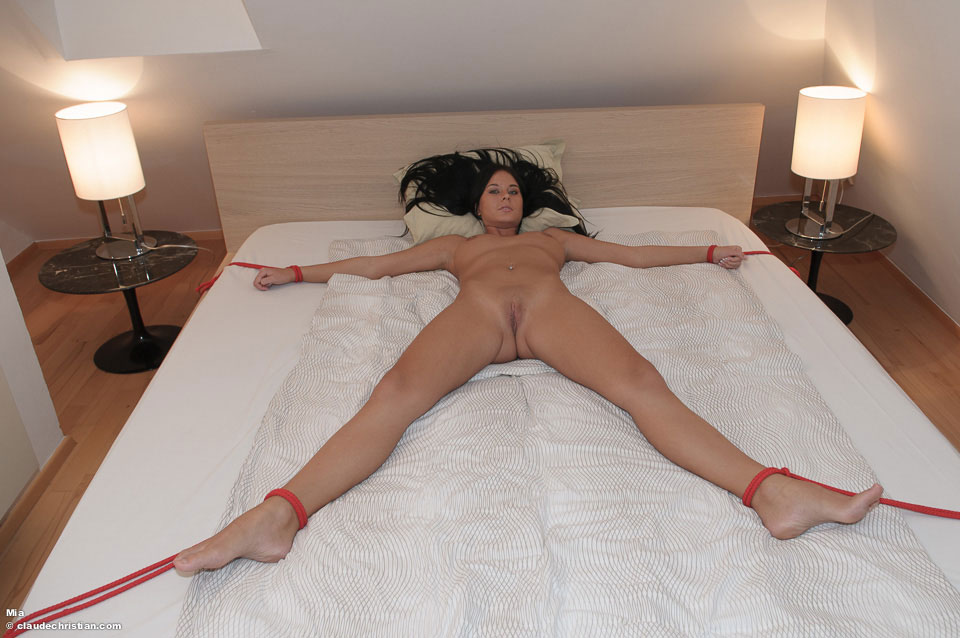 Tied Naked To The Bed 49