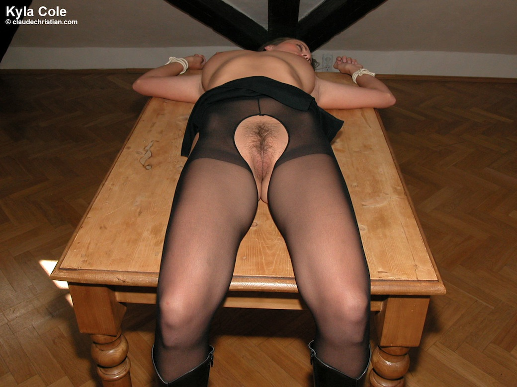 Congratulate, Picture of women crotchless pantyhose your place