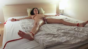 Tied stretched naked — pic 12
